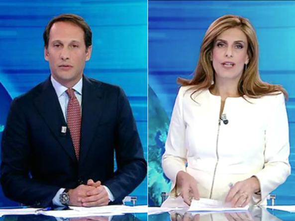 TG5 malore in diretta: giornalista crolla in diretta